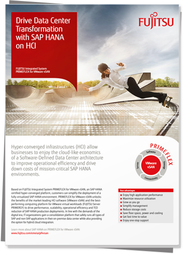 Download:  					 Drive Data Center Transformation with SAP HANA on HCI PDF