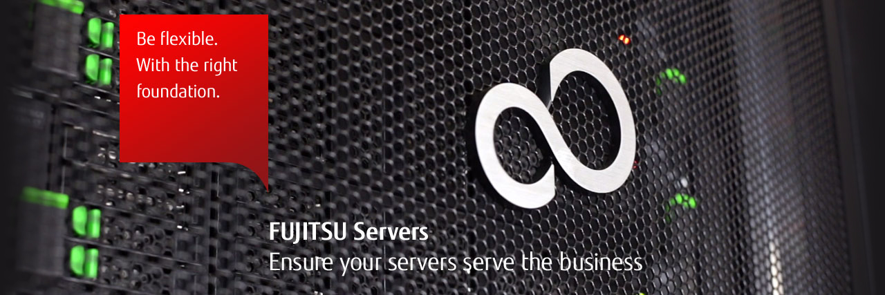 Be flexible. With the right foundation. - FUJITSU Server