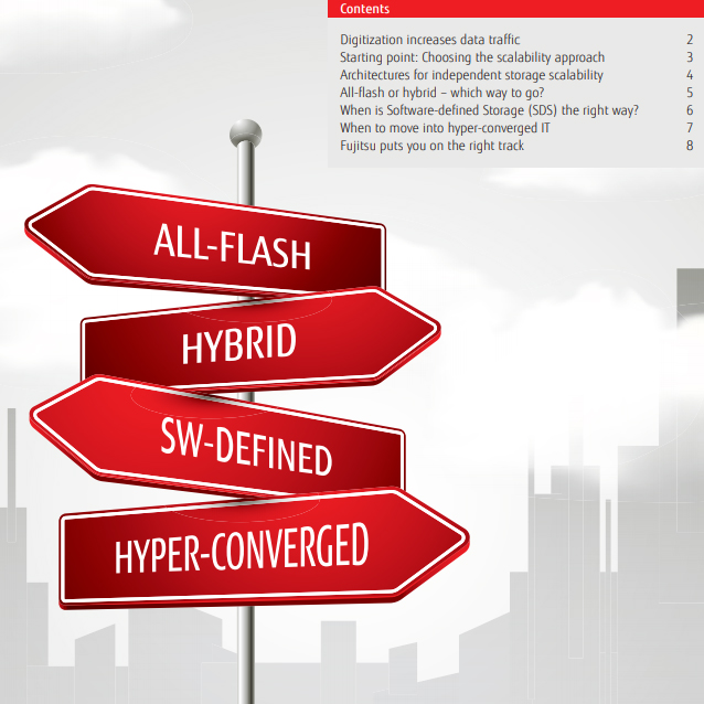 White Paper Flash Forward – a guide to new ways to do storage