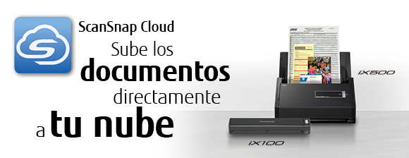 ScanSnap Cloud Sube los documentos directamente a tu nube