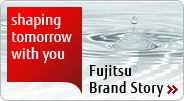 shaping tomorrow with you, Fujitsu Brand Story