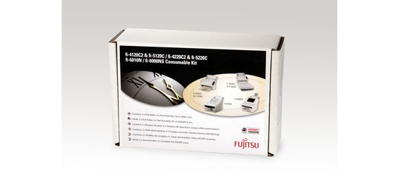 fi-6010N, fi-4x20C2, fi-5x20C, fi-6000NS consumable kit from Fujitsu