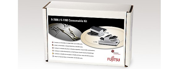 fi-7600 / fi-7700 Consumable Kit from Fujitsu