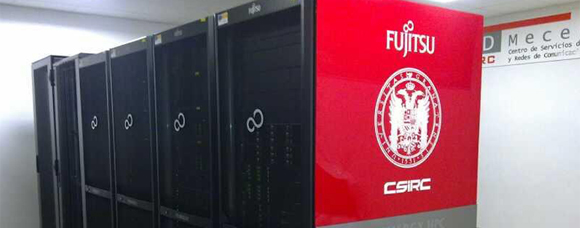 Servers installed at the University of Granada