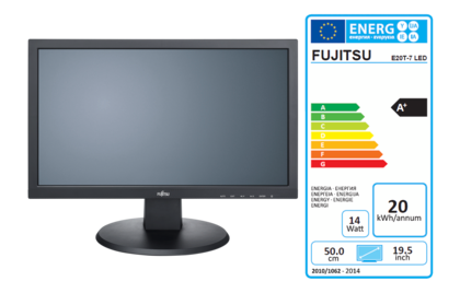 Display E20T-7 LED with EEC label A+