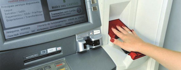 ATM with PalmSecure