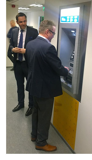 Talletusautomaatti Helsinki