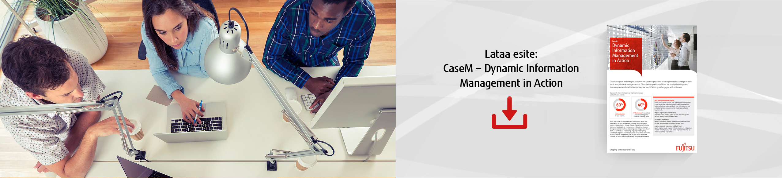 Lataa esite: CaseM - Dynamic information management in action
