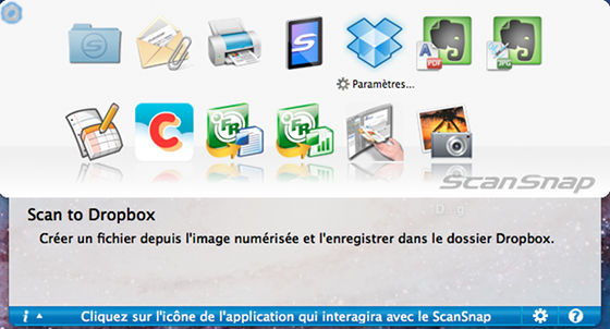 ScanSnap Scan-to-Dropbox (Francais: MacOS)