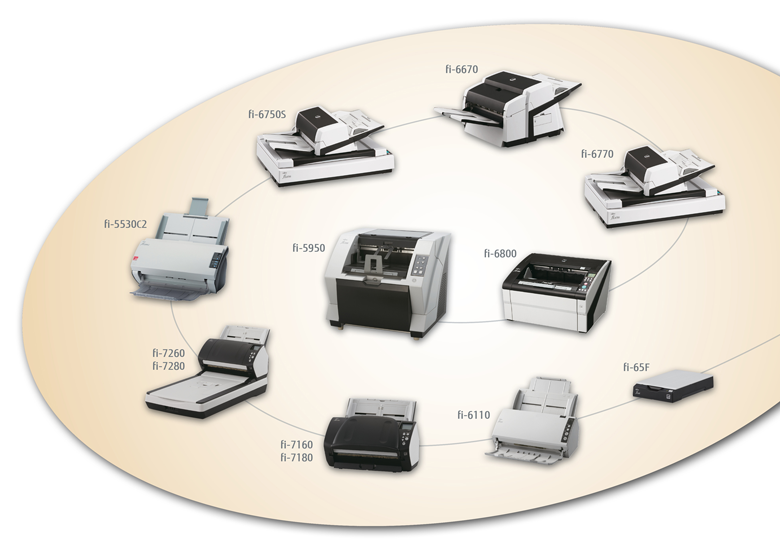 fi-series scanners from fujitsu