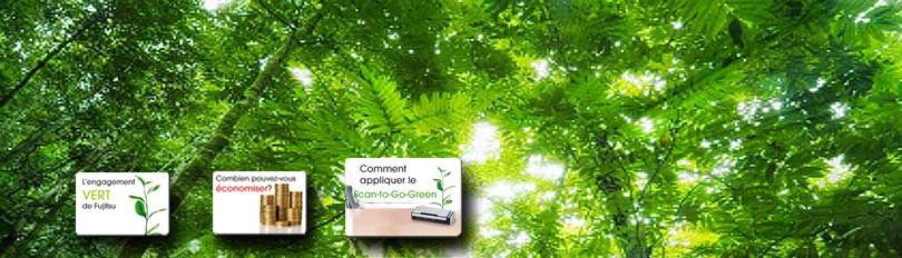 Banner Scan To Go Green