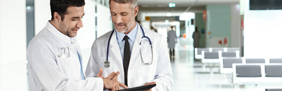 Mobile device in healthcare industry