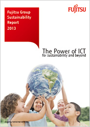 cover of Fujitsu Group Sustainability Report 2013