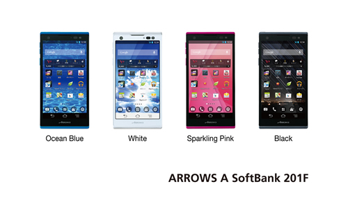 Fujitsu Launches ARROWS A SoftBank 201F - Fujitsu Global