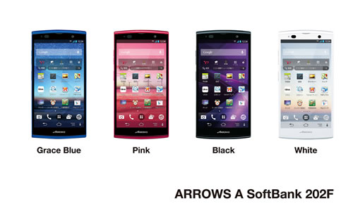 ARROWS A SoftBank 202F