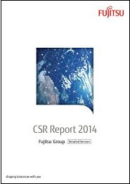 CSR Report 2014 Cover Page Detailed Version