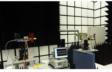 Figure 3: Experiment of radiowave propagation and measurement technology (NICT)
