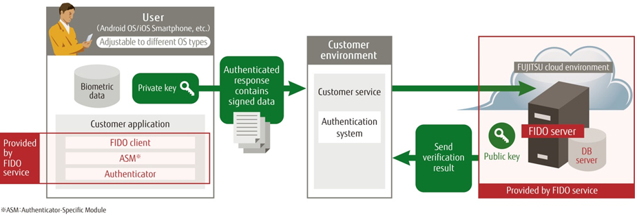 The Online Biometric Authentication Service system