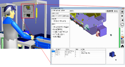 Figure 3: Example of the manufacturing instruction viewer