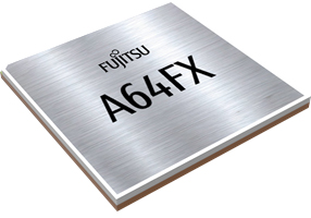 The image of CPU A64FX