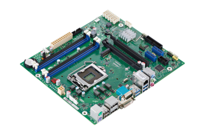 Mainboard D3417-B - side view