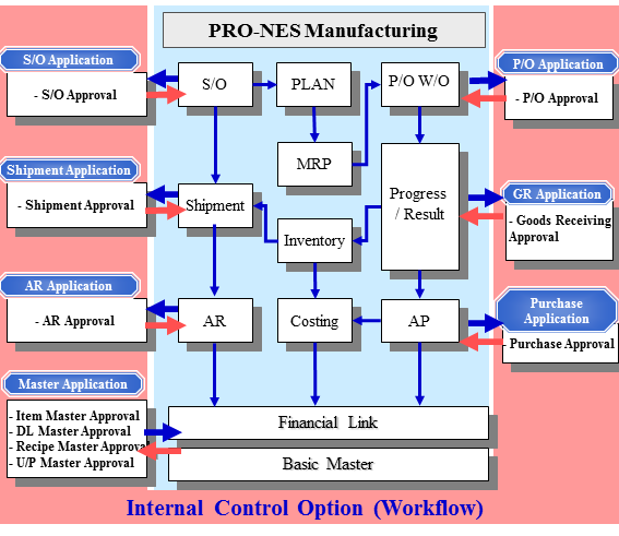 Internal Control Features