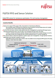 Image of datasheet of RFID and Sensor Solution
