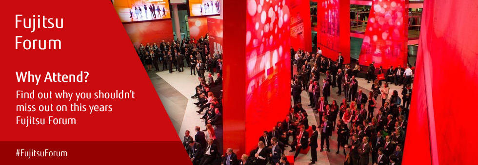 Why attend? There are lots of good reasons for attending Fujitsu Forum 2016. #FujitsuForum