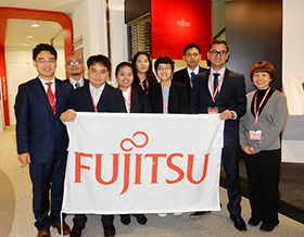 Picture: Fujitsu Scholarship Recipients