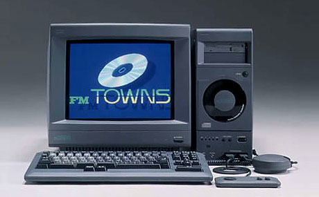 Image result for Fujitsu FM Towns