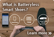 What is Batteryless Smart Shoes?