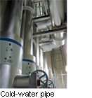 Cold-water pipe