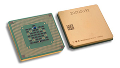 Photo of SPARC64 VIIVII+/VI Processors.