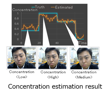 Fig. 2 Concentration Estimation Overview