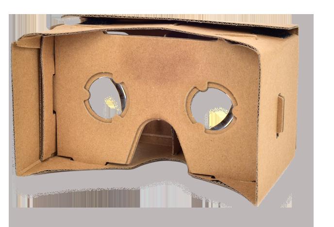 Cardboard-heaset