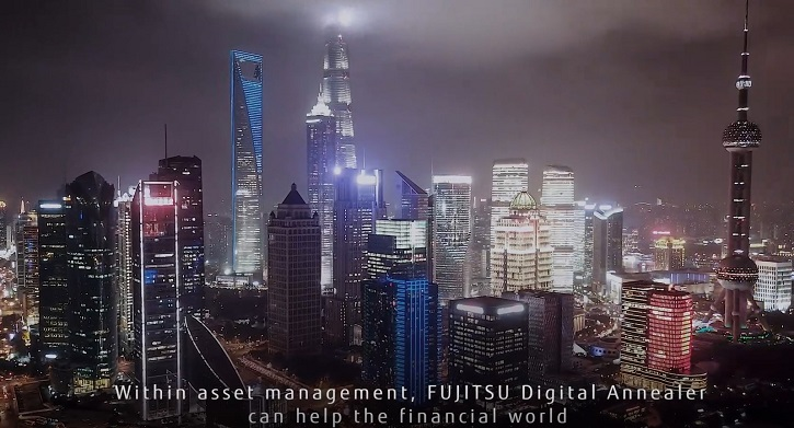 Video still: Fujitsu Digital Annealer can help the financial world
