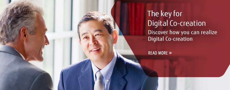 The Key for Digital Co-creation Discover how you can realize Digital Co-creation READ MORE