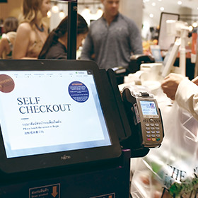 Co-creation with Siam Commercial Bank delivers cashless self-checkout for The Mall