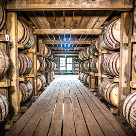 Reducing potential risk of error by tracking production of barrels of bourbon