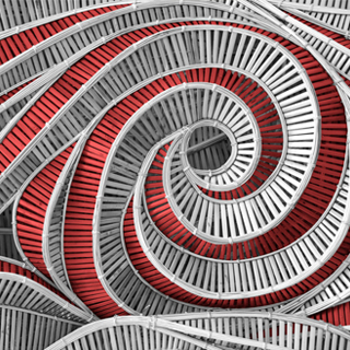 Red and grey spiral - Compliance