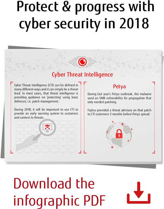 Protect & progress with cyber security in 2018 - Download PDF