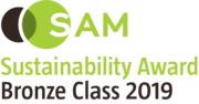 Logo: Robeco SAM Sustainability Award Bronze class 2019
