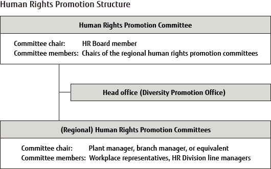 Human Rights Promotion Structure