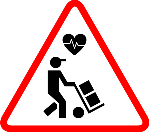 Over-exertion icon