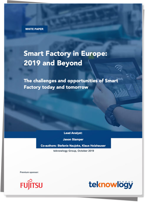 63% of manufacturers are planning to increase their smart factory investment in the next three years – learn why.