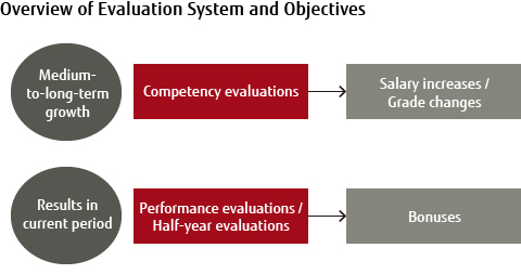 Performance Evaluation and Compensation / Work Environment