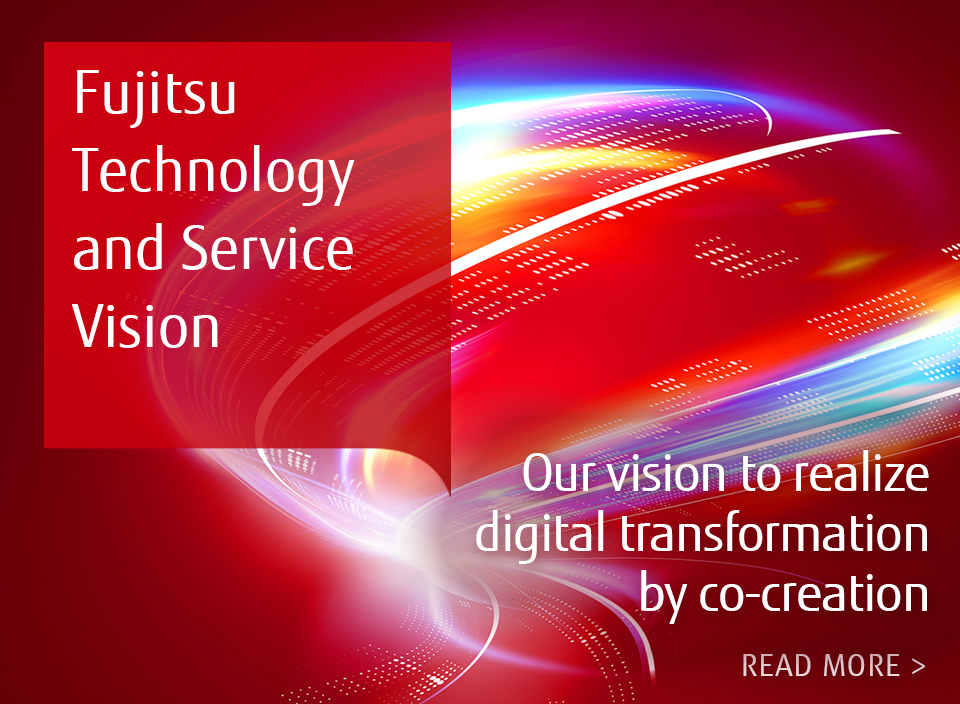 Our vision to realize digital transformation by co-creation