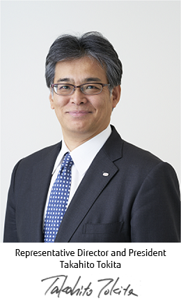 Representative Director and President Takahito Tokita