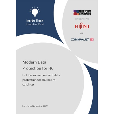 Analyst Report: Modern Data Protection for HCI
