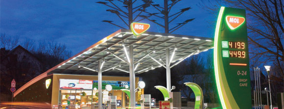 MOL filling station